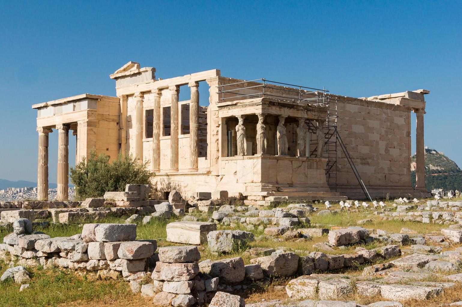 chrám Erechteion