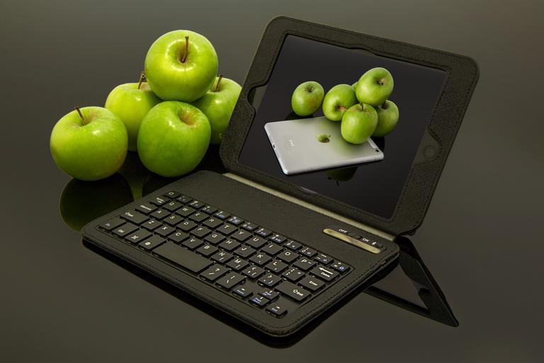 jablka na netu